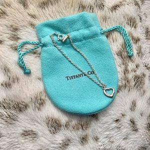 Tiffany Elsa Peretti open heart bracelet